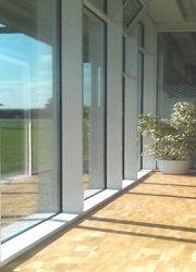 Sonnenschutzfolie-Fenster