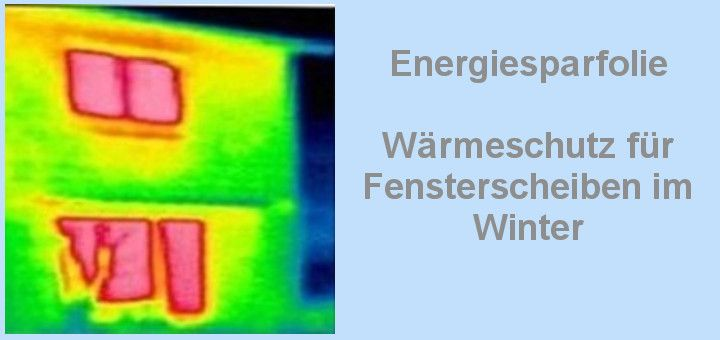 Wärmeschutzfolie-Energiesparen