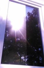 Lichttransmission bei Spiegelfolien