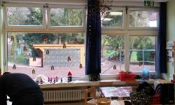 Kindergarten-Splitterschutzfolien