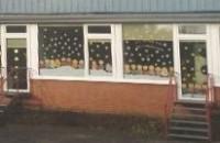 Splitterschutzfolie Kindergarten