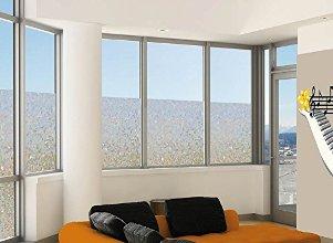 statische sonnenschutzfolie abnehmbare spiegelfolie f r. Black Bedroom Furniture Sets. Home Design Ideas
