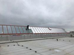 Sonnenschutzfolie-Dachverglasung