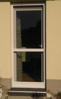 Terrassentur Sonnenschutz Fur Fenster Glasturen Mit